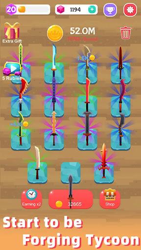 Merge Sword - Idle Blacksmith Master 1.3.4 screenshots 15