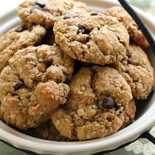 Razzle Dazzle Peanut Butter Oatmeal Cookies