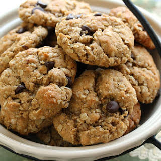 Razzle Dazzle Peanut Butter Oatmeal Cookies.