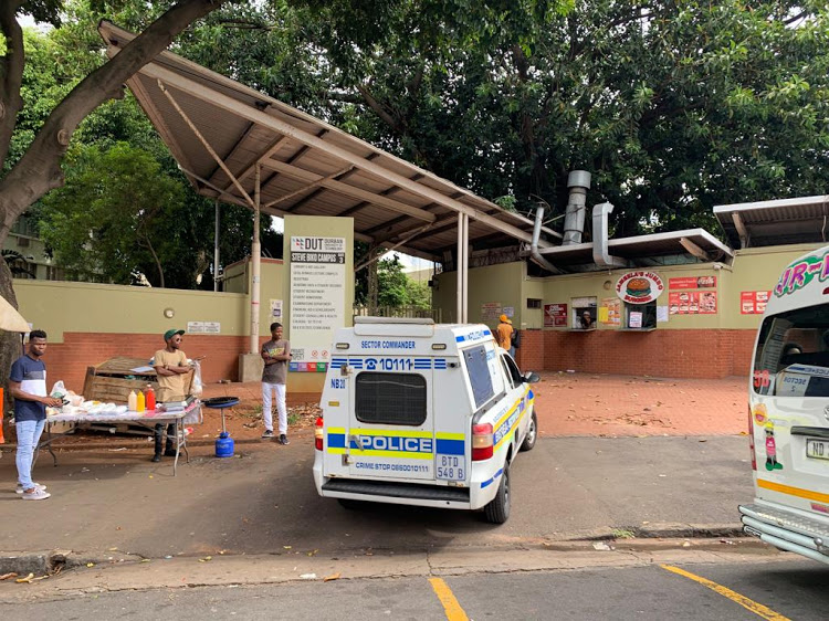 Police say they do not know where the fatal shot that killed a Durban University of Technology student on Tuesday came from.