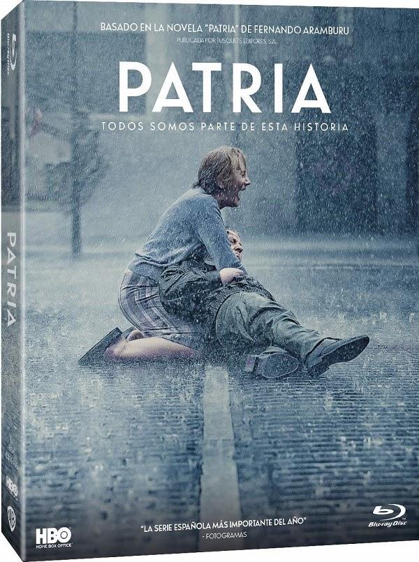 Patria en DVD y Blu-Ray