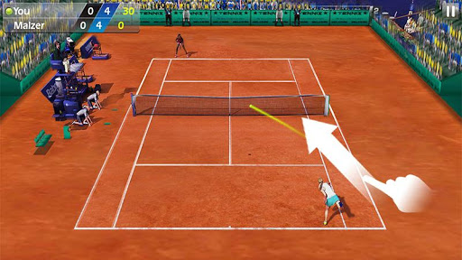 3D Tennis screenshot 3