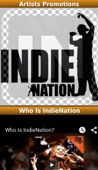 IndieNation- screenshot