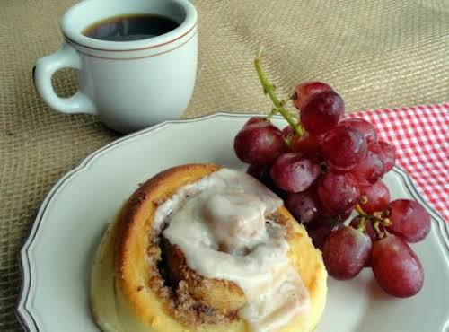 "Easiest Ever Cinnamon Rolls ""These are the BOMB! I made them and..."