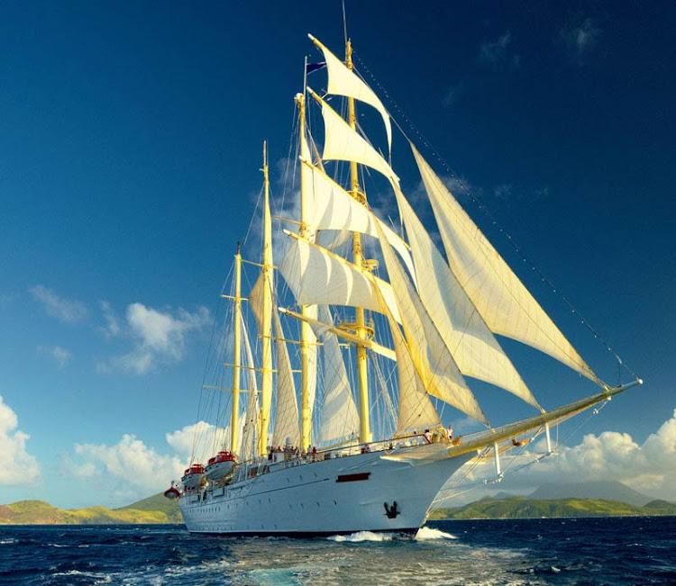 Sail on a 9-night cruise on Star Clipper through the Suez Canal.