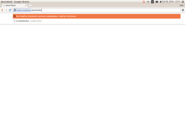 CodePen OmniSearch