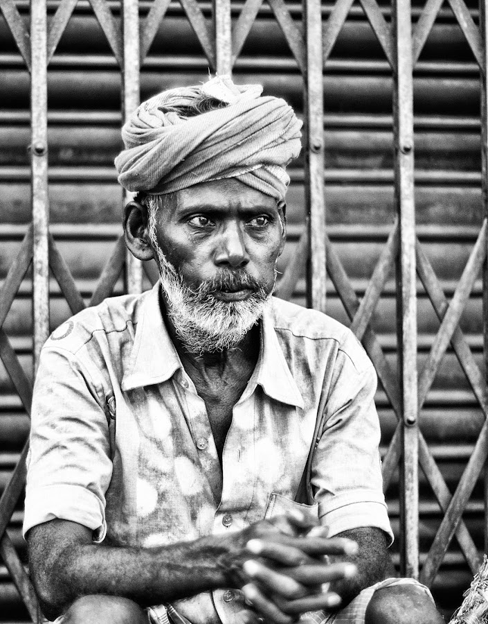 by Krishna Adoni - People Portraits of Men