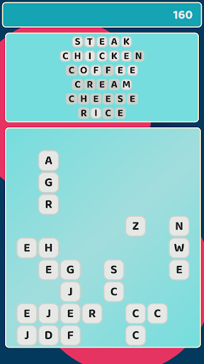 Unique Word Realm: seek, find and tap letters 2020 screenshot 1