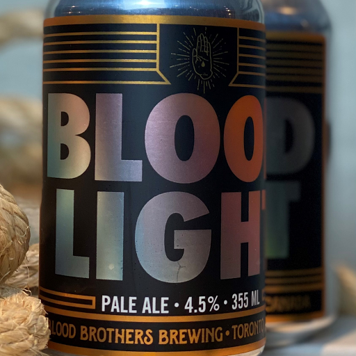 Blood Bros 'Blood Light' Ale 355 ml can 4PACK