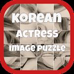Korean Actress Image Puzzle Icon