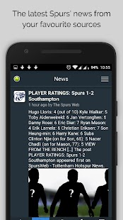 Tottenham News- screenshot thumbnail