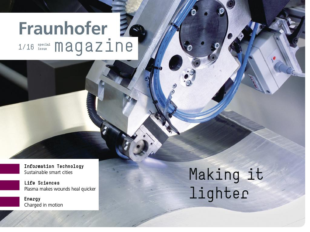 Fraunhofer Magazine – English- screenshot