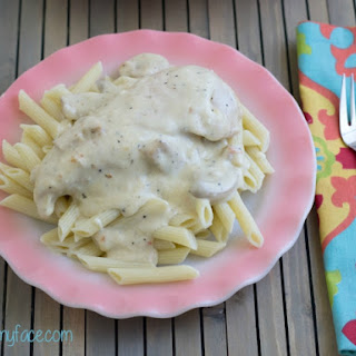 Crock Pot Creamy Italian Chicken.