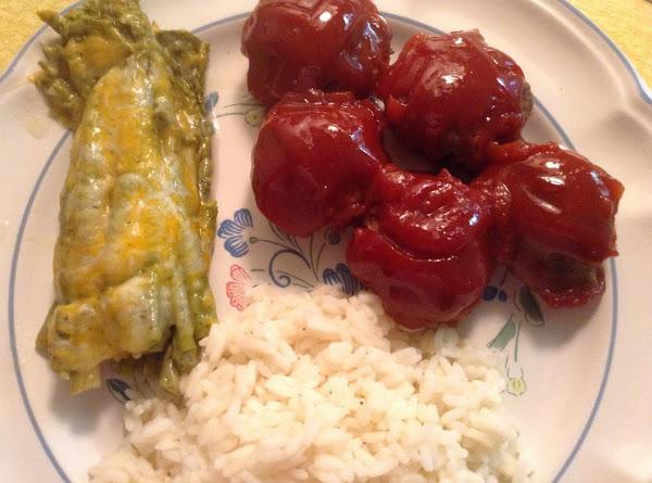 Bea's Sweet & Sour Meatballs Recipe