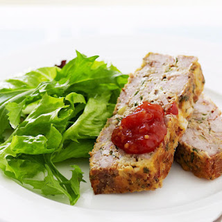 Chutney and Mustard Meatloaf