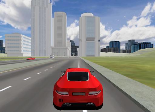 Luxury Car City Simulation 3D