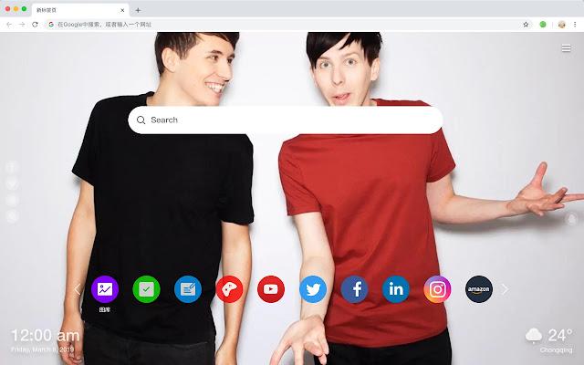 Dan and Phil HD Wallpapers Artists Hot Topics
