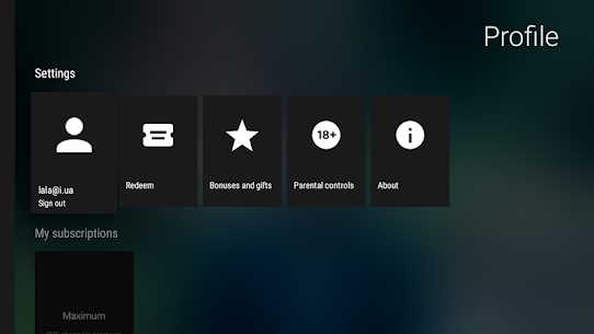 MEGOGO for Android TV MOD APK (Ad Free) 7
