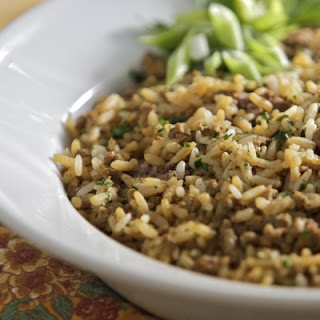 Gluten Free Cajun Dirty Rice