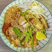[Keto] Pad Thai-Crispy Pork