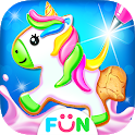 Unicorn Cookie Maker – Bake Cookies Games icon