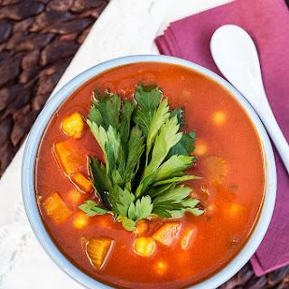 Moroccan Harira Soup.