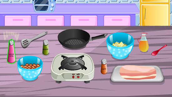 cooking games girls games - náhled