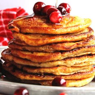 Crispy Cranberry Buttermilk Pancakes