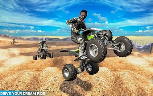 Extreme Stunt Quad Bike Racing- screenshot thumbnail