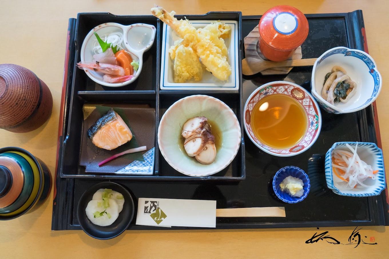 松花堂弁当(お料理 松山)