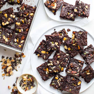 Fudgy Greek Yogurt Trail Mix Brownies Recipe