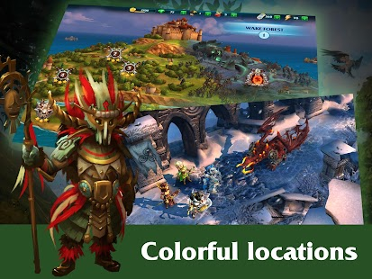 Forge of Glory - Match3 MMORPG- screenshot thumbnail