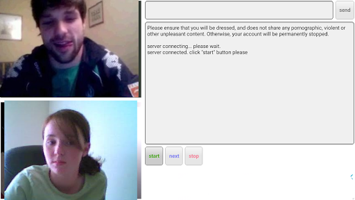 RANDOM VIDEO CHAT 0.0.28 screenshots 1