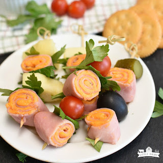 Easy Ham and Cheese Roll-Ups.