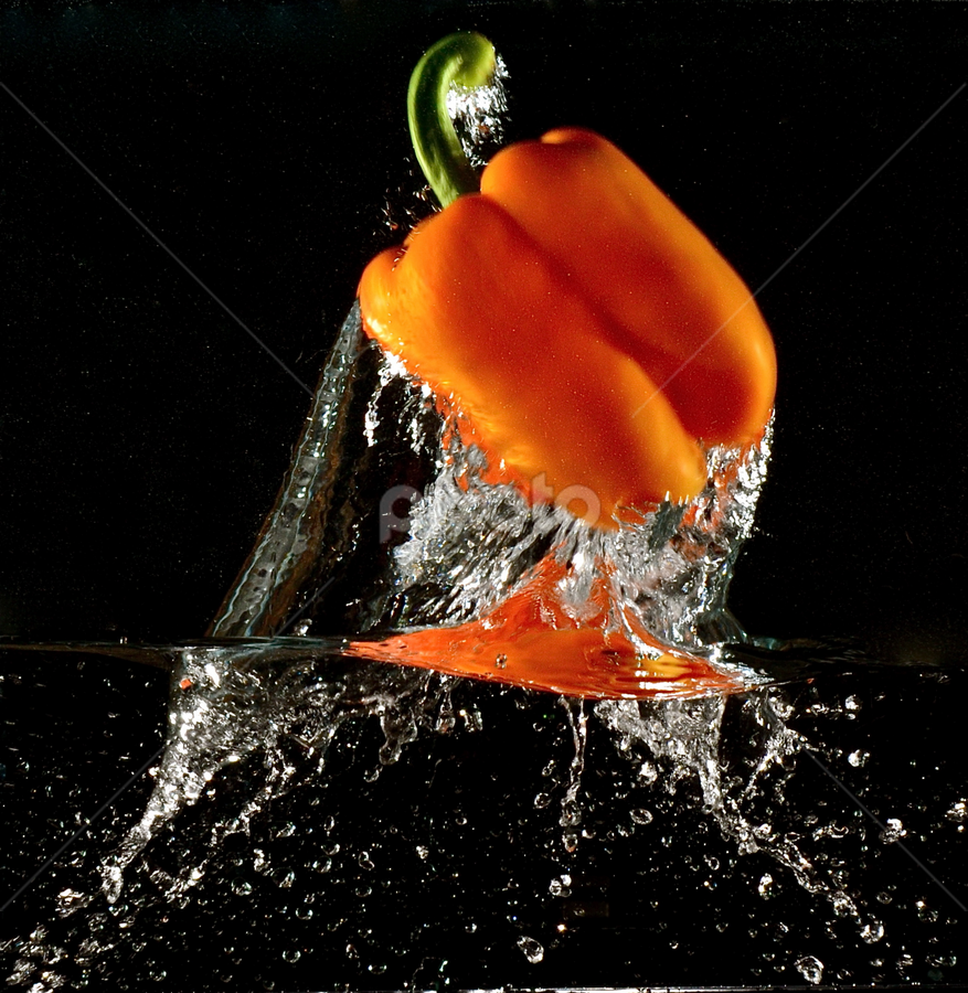 Fantastic Pepper Lift Off! by Craig Luchin - Food & Drink Fruits & Vegetables