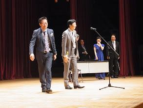 Photo: 高田先生から3位の発表、なんと地元の山崎先生