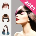 Hairstyle Changer 2021 - HairStyle & HairColor Pro icon
