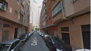 Vista de la calle César, que une Rambla Amatisteros y calle Granada.