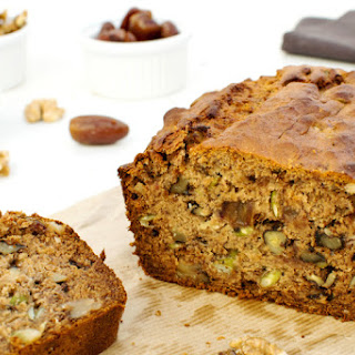 Buckwheat Banana & Date Bread [vegetarian]