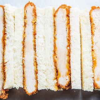 Katsu Sando (Japanese Pork Cutlet Sandwich).