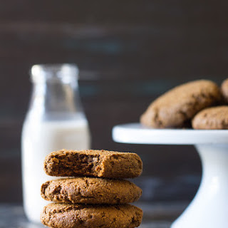 Big & Chewy Paleo Gingerbread Cookies.