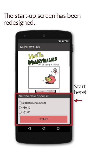 玩免費財經APP|下載MONEYWALKS -Savings supporter! app不用錢|硬是要APP