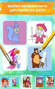 Maşa Ile Koca Ayı çocuk Boyama Oyunları Oyna 103 Apk Indir