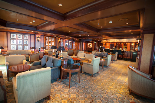 Ruby-Princess-Adagio - Adagio, next to Sabatini's on deck 16, is a bar and lounge with an upscale elegant vibe and a pianist in the evenings.