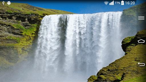 Waterfall Live Wallpaper With 6.2 screenshots 7