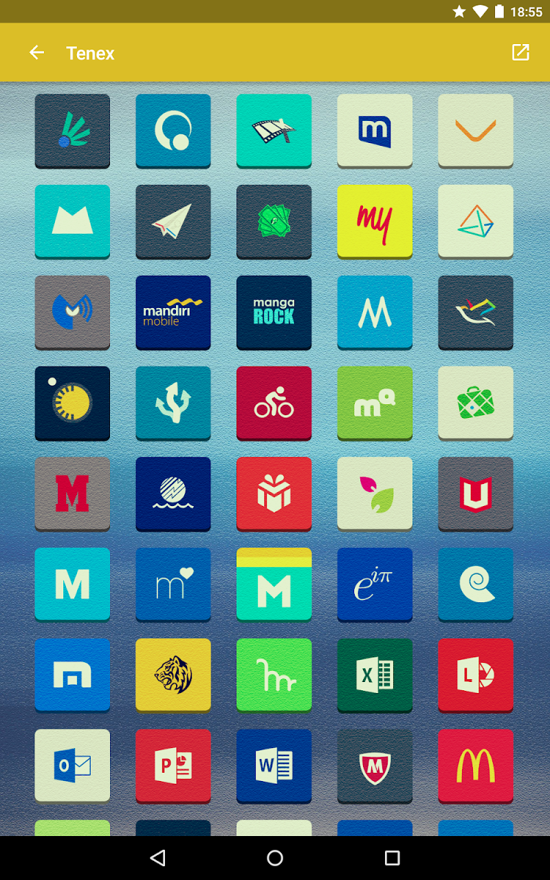 Tenex - Icon Pack Screenshot 12