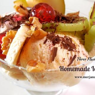 Homemade Ice-cream without machine