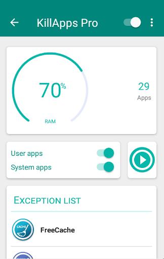 KillApps Pro: Close all apps running v1.5.10