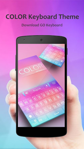 Color GO Keyboard Theme