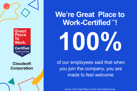 ABOUT | We're officially a Great Place to Work